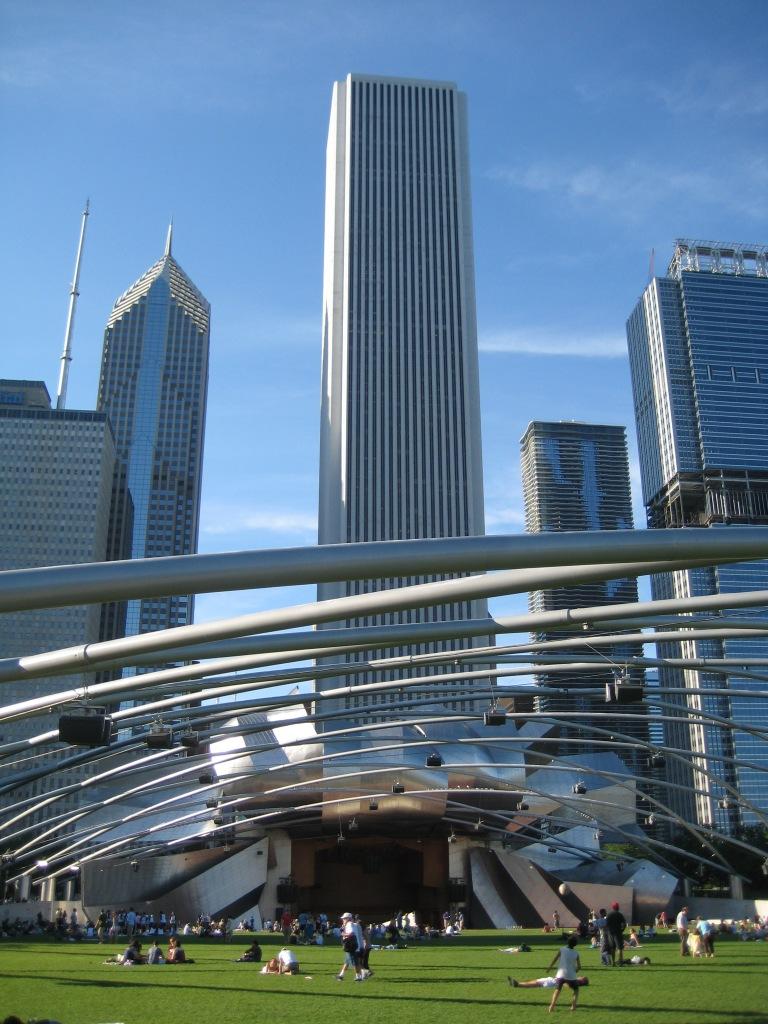 Millenium Park bandstand
